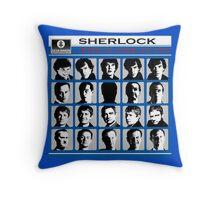 Sherlock- A Hard Day's Night  Throw Pillow