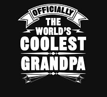 Officially The World's Coolest GrandPa, Funny Father's Day T-Shirt Unisex T-Shirt