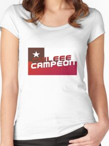 Chile Copa America Champions 2016 Women's Fitted Scoop T-Shirt