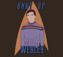 "Wesley Crusher - ""Shut Up Wesley"" - Star Trek the Next Generation by Keighcei"