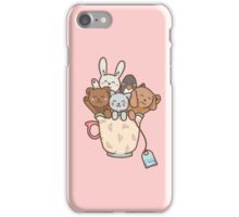 CUP OF ANIMALS iPhone Case/Skin