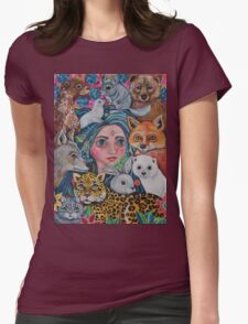 Petra the Furry Godmother Womens Fitted T-Shirt