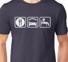 Eat Sleep Bench Press Unisex T-Shirt