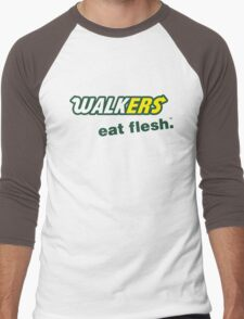 Walkers. Eat Flesh.™ Men's Baseball ¾ T-Shirt