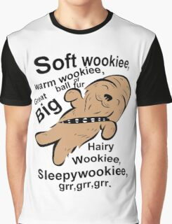 Soft Wookiee Warm Wookiee Graphic T-Shirt