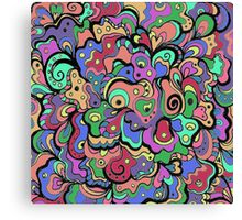 Psychedelic Abstract Canvas Print