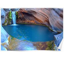 Spa Pool HDR, Hamersley Gorge, Karijini NP Poster