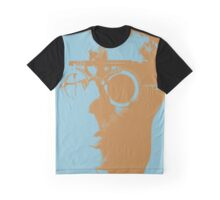 Blue Opthalmic Head Graphic T-Shirt