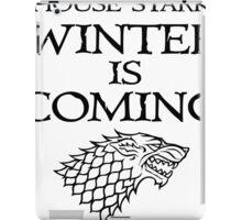 House Stark   Winter is Coming iPad Case/Skin