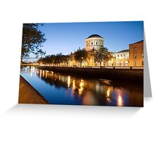 Four Courts Greeting Card