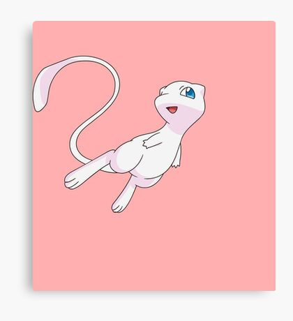 Pokemon - Mew Canvas Print