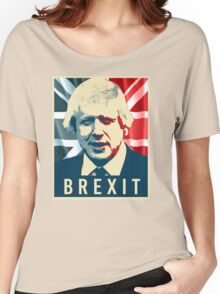 Boris Johnson Brexit Women's Relaxed Fit T-Shirt