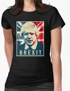 Boris Johnson Brexit Womens Fitted T-Shirt