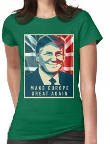 Trump - Make Europe Great Again Womens Fitted T-Shirt