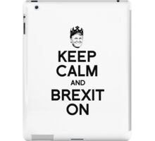 Keep Calm and Brexit On iPad Case/Skin
