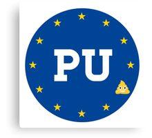 PU to the EU Canvas Print