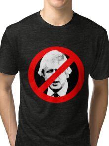 Anti Boris Johnson Tri-blend T-Shirt