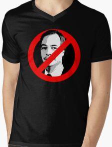 Anti Nigel Farage Mens V-Neck T-Shirt