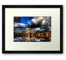 Historic Eldorado Gold Dredge Framed Print