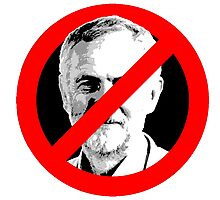 Anti Jeremy Corbyn Photographic Print