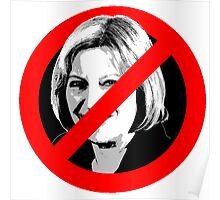 Anti Theresa May Poster