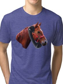 Hello, Horse Speaking Tri-blend T-Shirt