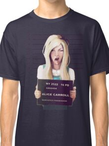 Alice mugshot Classic T-Shirt