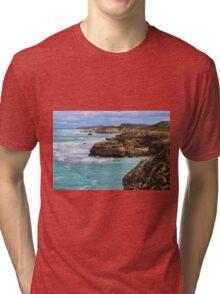 St Paul's Beach, Sorrento, Mornington Peninsula Tri-blend T-Shirt