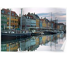 Nyhavn dawn Poster
