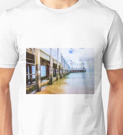 Safety Beach Jetty, Mornington Peninsula Unisex T-Shirt