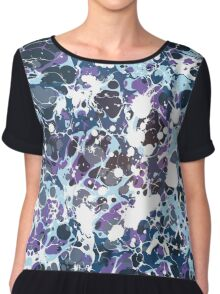 Urban Splash Dripping Art Pepe Psyche Chiffon Top