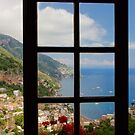 A View on Positano by Barbara  Brown