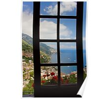 A View on Positano Poster