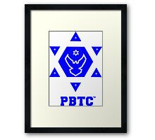 PBTC™ New Brand Logo - Powered By The Creator™  Framed Print