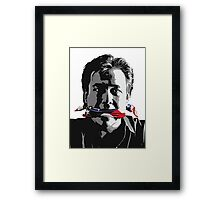 shut 'em Up - Bill Hicks - Freedom of speak Framed Print