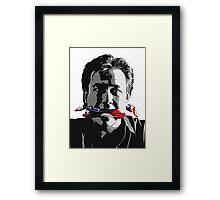 shut 'em Up - Bill Hicks - Freedom of speak Framed Print