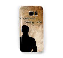 Sherlock Holmes Benedict Cumberbatch version Samsung Galaxy Case/Skin