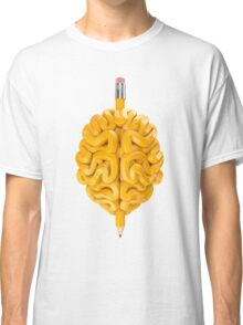 Pencil Brain Classic T-Shirt