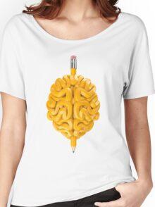 Pencil Brain Women's Relaxed Fit T-Shirt