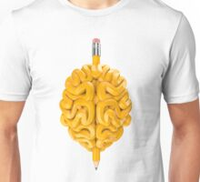 Pencil Brain Unisex T-Shirt