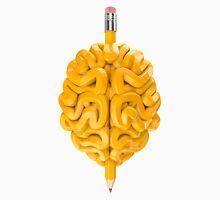 Pencil Brain Unisex T-Shirt