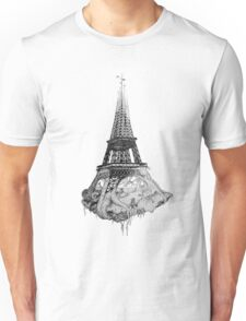 under the eiffel Unisex T-Shirt