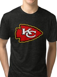 Kansas City Chief Tri-blend T-Shirt