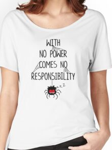 NO RESPONSIBILITY Women's Relaxed Fit T-Shirt