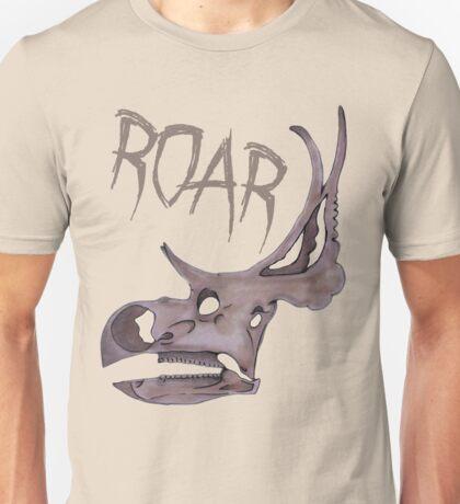 Triceratops Roar!  Unisex T-Shirt
