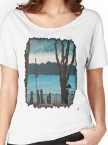 Evening lake Women's Relaxed Fit T-Shirt