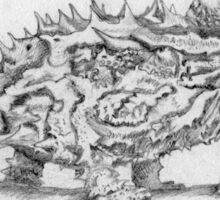 Thorny Dragon Sticker