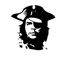 Pirate Che Guevara Photographic Print
