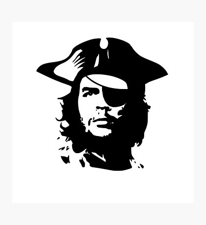 Pirate Che Guevara Photographic Print