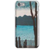 Evening lake iPhone Case/Skin